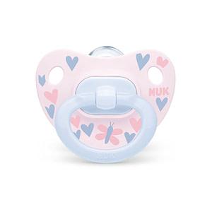 Dojčenský cumlík NUK Happy Days 0-6m ružový BOX