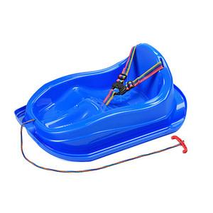 Plastové Sánky S Operadlom Bayo Mini Modré