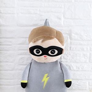 Dětský Batôžtek Metoo - Super Boy - Šedý
