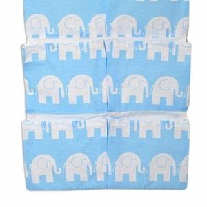 Mamo Tato Vreckár 40 x 65 cm -Sloni modří