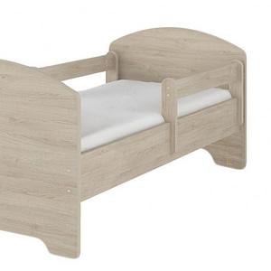 NELLYS Dětská postel SABI v barvě svetlého dubu + matrac zadarmo, D19