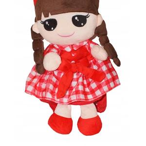 Túlilo Detský batôžtek bábika Kajka - červený
