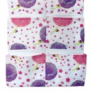 Mamo Tato Vreckár 40 x 65 cm - Púpavy ružové