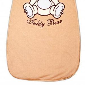 Spací vak Medvedík Teddy Baby Nellys - hnedý