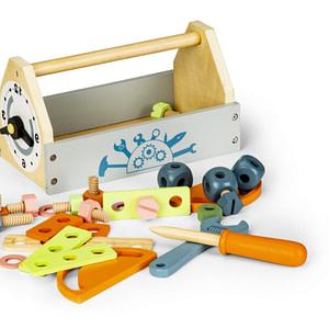 Eco Toys Drevená Skrínka Na Náradie