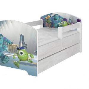 Babyboo Detská Posteľ 140 X 70 Cm - Monsters