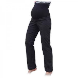 JOŽÁNEK Športové tehotenské zateplené softshellové nohavice