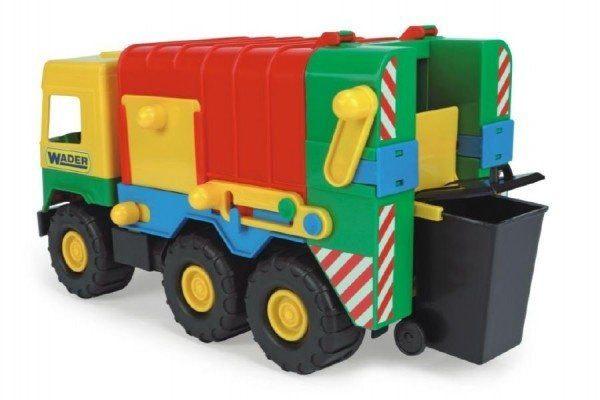 Teddies Auto middle Truck smetiar plast 41cm Wader v sáčku