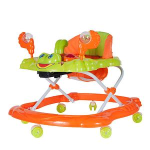 Tulimi Multifunkčná Chodítko Krab S Chrastitkom, Oranžové