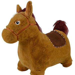 Skákací Koník S Pumpičkou, Hnedý