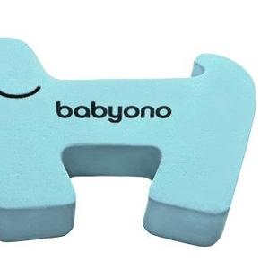 BabyOno Blokáda dverí - modrý psík