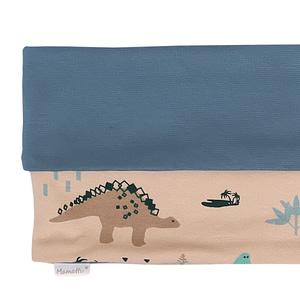 Mamatti Nákrčník / Komínok Dinosaurus, Krémová S Potlačou
