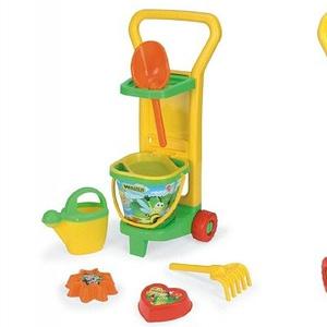 Teddies Vozík záhradníka s doplnkami plast 25x60cm Wader