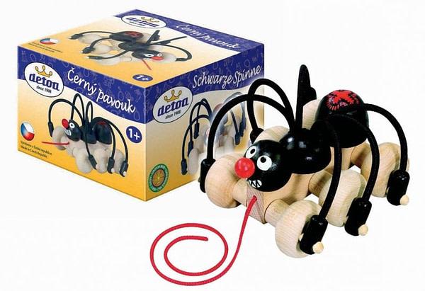 Rappa Pavouk tahací, dřevěný