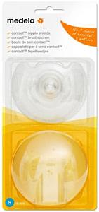 Medela Klobúčik Prsných Bradaviek Contact - 2Ks, Veľkosť S