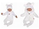 Z & z 5-dielna kojenecká súpravička do pôrodnice - biela