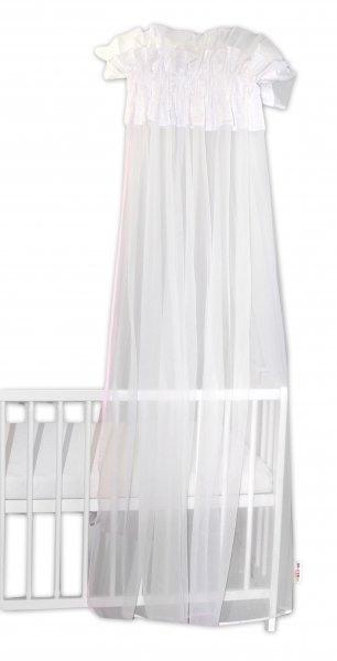 Baby Nellys Luxusná moskytiéra 160x400cm - Medvedík Maxik