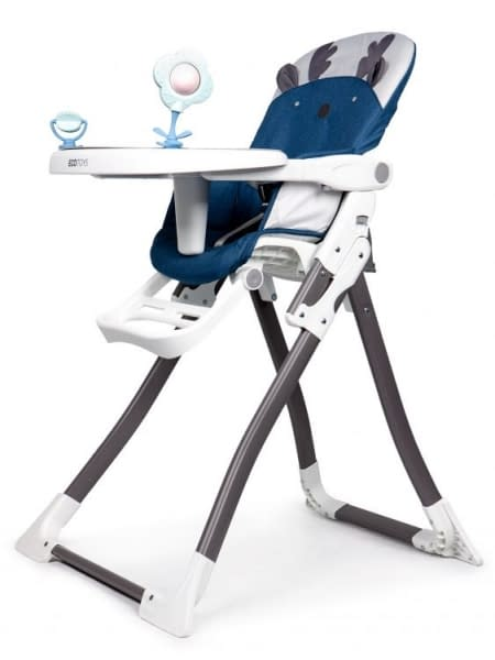 Eco toys Jedálenská stolička - Sobík