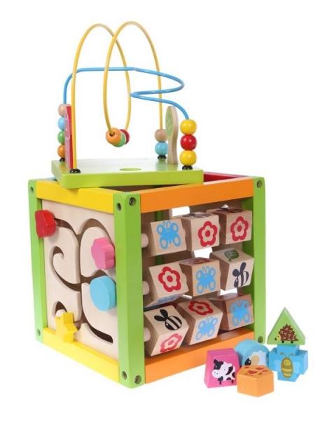 Drevená Edukačná Kocka Eco Toys