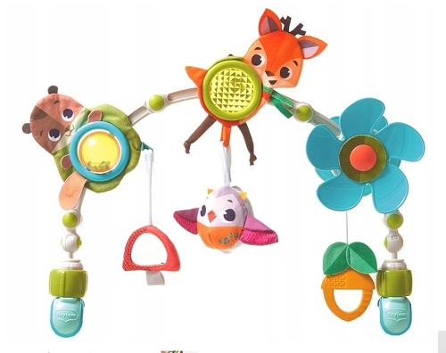 Tiny love oblúk s hračkami lesné zvieratká, forest