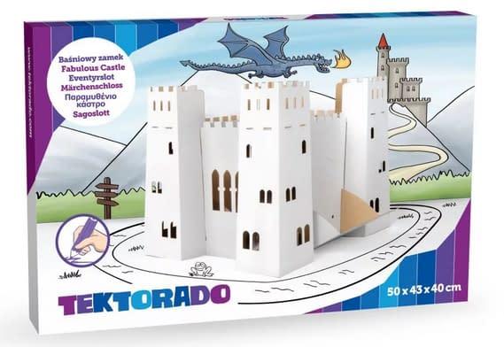 Tektorado Kartónový rozprávkový hrad