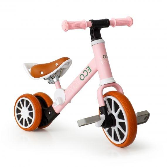 Eco Toys Bicigel, Odrážadlo S Pedály - Ružová