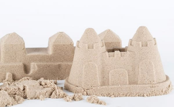 ADAM TOYS Kinetický piesok - prírodný - 5kg