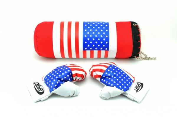 Boxovacie vrece + rukavice v sieťke 45x15cm
