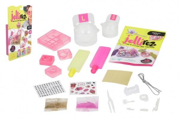 Jelly Rez - Základný Set Pre Výrobu Bižutérie - Cukrovinky Na Kartě 17X28x5cm