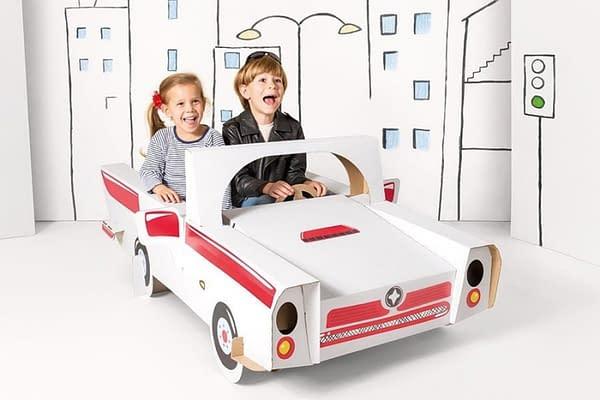 Detské Kartónové Auto Cabrio Tektorado