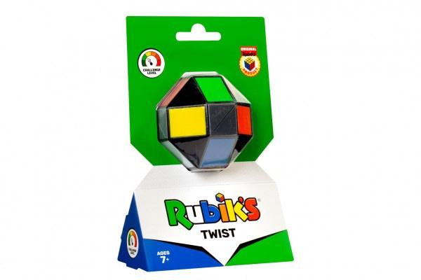 Rubikova Kocka Hlavolam Farebný Twist Na Karte 12X19x6cm