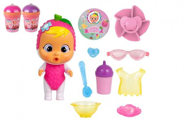 Cry Babies Magické Slzy Série Tutti Frutti Bábika S Doplnkami V Plastovej Dóze 12X17x19cm 9Ks V Boxe
