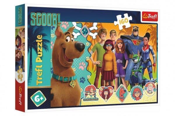 Puzzle Scooby Doo V Akcii 41X27,5Cm 160 Dielikov V Krabici 29X19x4cm