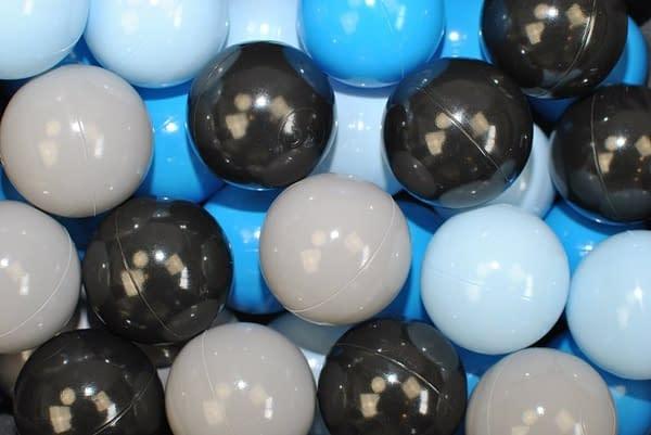 NELLYS Náhradné balóniky do bazéna - 200 ks, mix IV