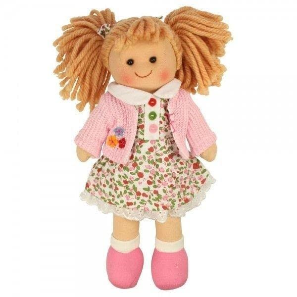 Bigjigs Látková bábika PAULINA, 27cm