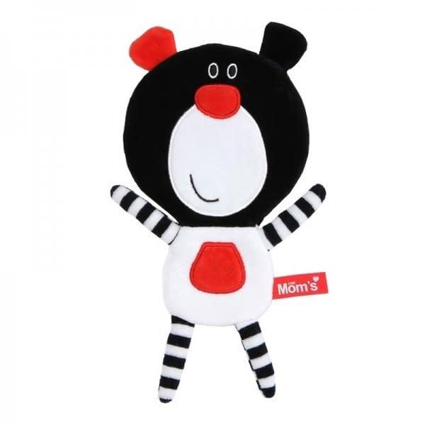 Hencz Toys Edukačná hračka Méďa šustík - čierny