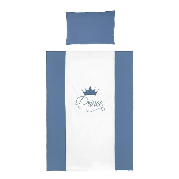 2-Dielne Posteľné Obliečky Belisima Royal Baby 90/120 Modré
