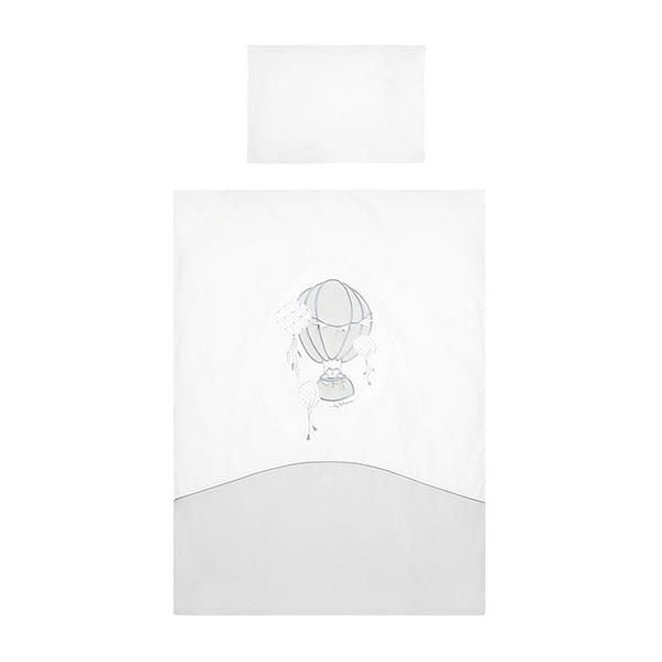 2-Dielne Posteľné Obliečky Belisima Ballons 100/135 Sivé