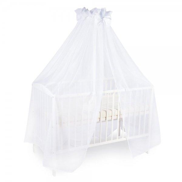 Abero Mio Luxusná moskytiéra 200x400cm s mašličkou - biela