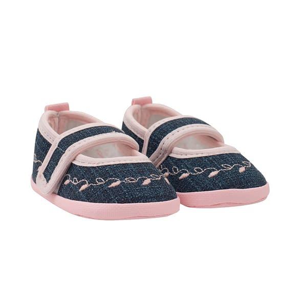 Dojčenské capačky New Baby Jeans ružové 0-3 m