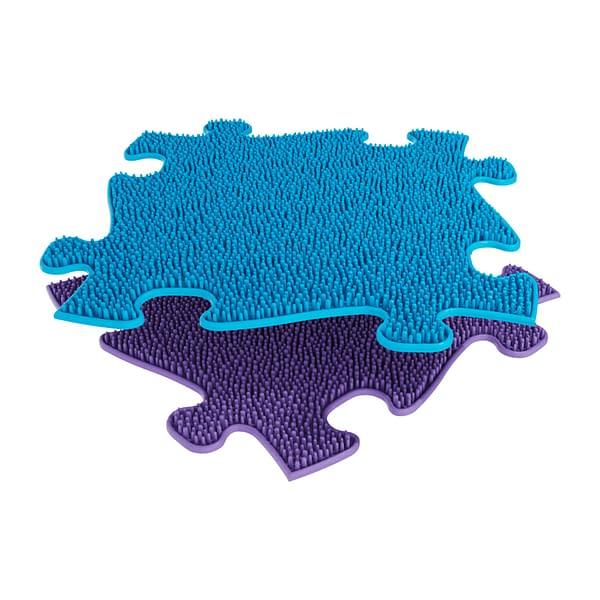 Muffik Ortopedická Podlaha - Tráva Měkká Barva: Modrá