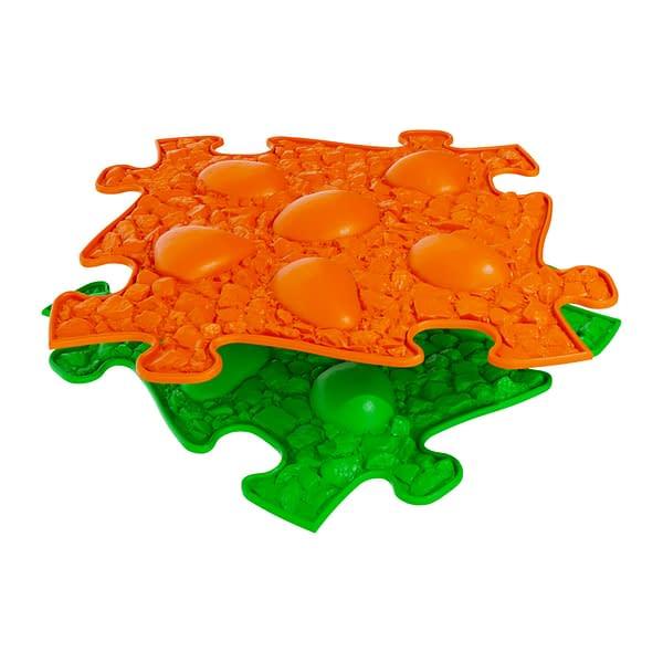 Muffik Ortopedická Podlaha - Dinosauří Vejce Měkké Barva: Oranžová