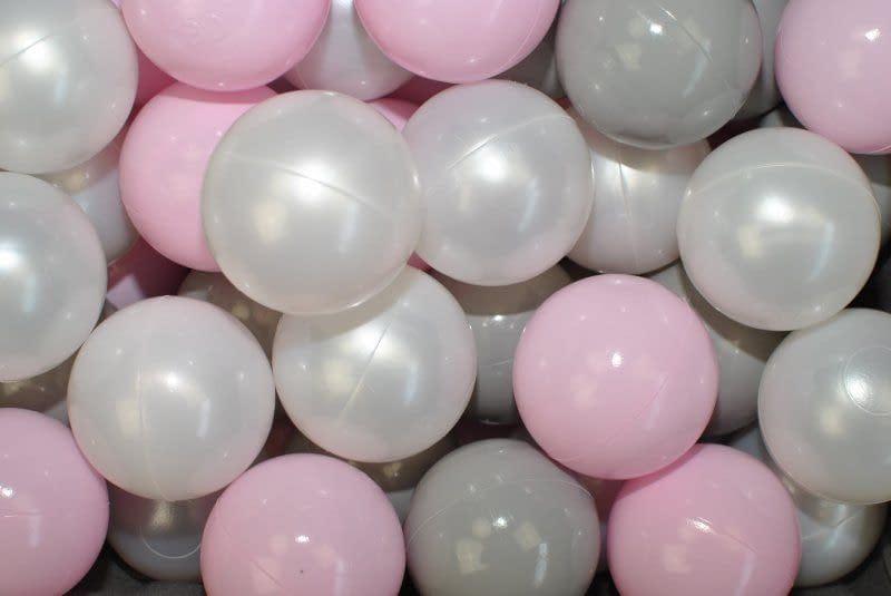 Nellys náhradné balóniky do bazéna - 200 ks, mix iii