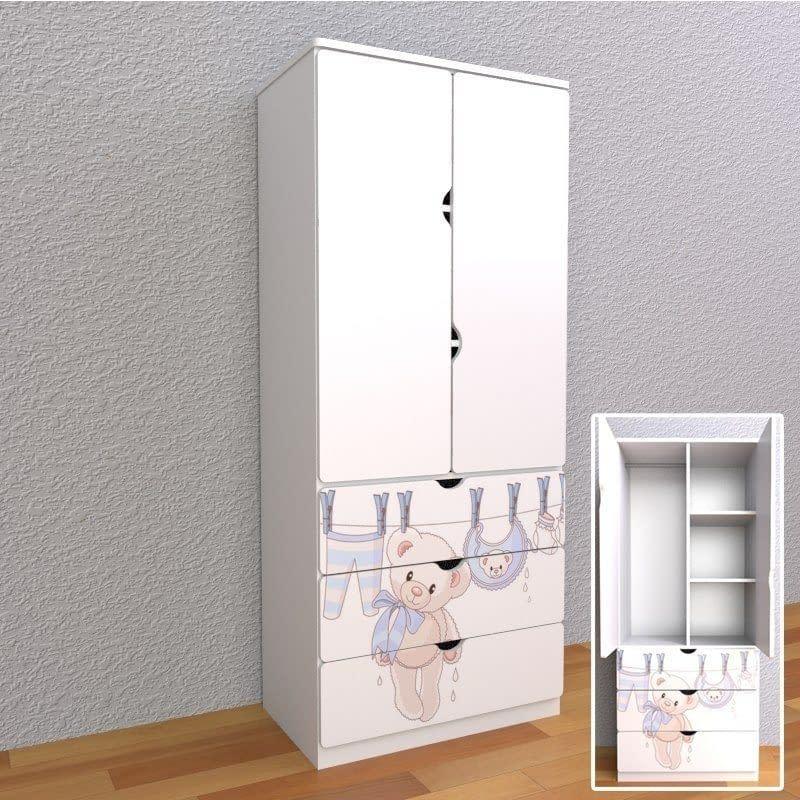 <strong>nábytok je na objednávku, dodacia doba: do 3-5 pracovných dní. </strong> <strong>rozmery skrine sú: výška 180cm x šírka 80cm x hĺbka 50cm</strong>. Vyrábame slovenský nábytok spĺňajúci kritériá kvality a bezpečnosti.